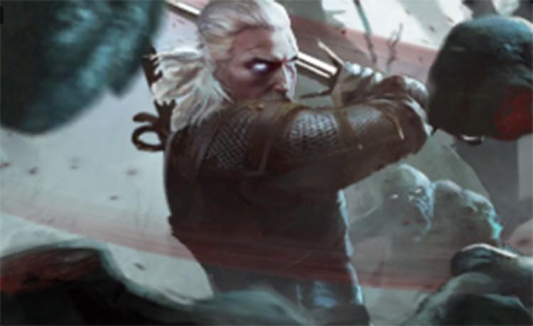 Karty premium - Geralt