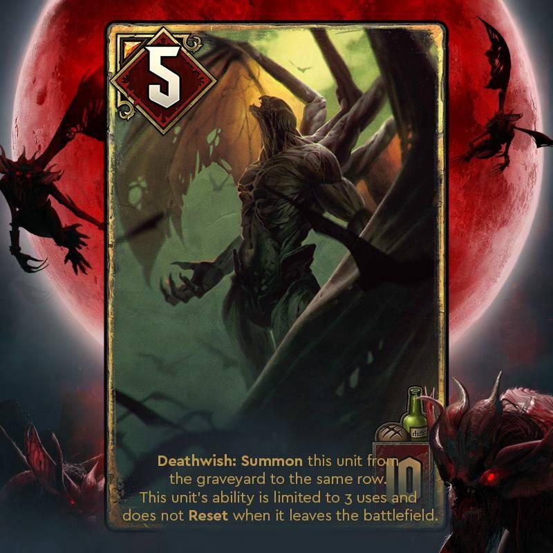 dettlaff wampir wyższy krwawa klątwa gwint