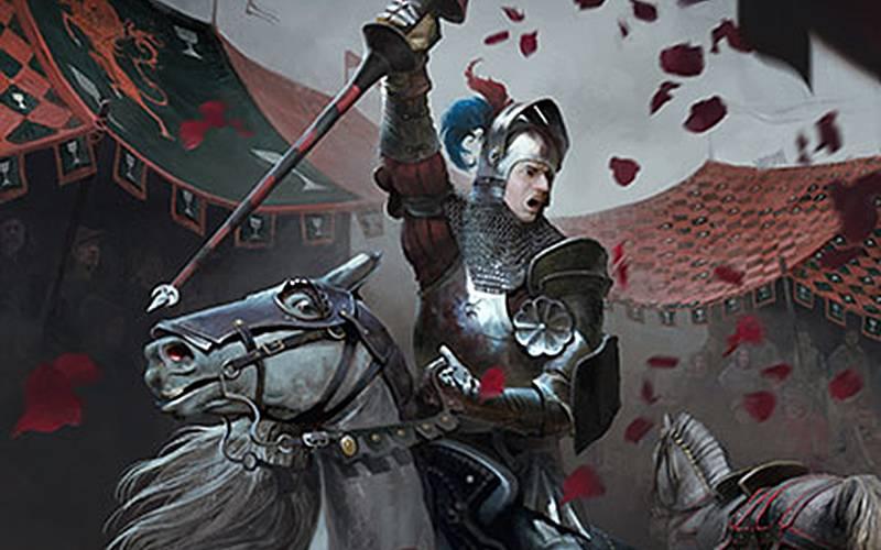 karty turniej rycerski krwawa klątwa gwint