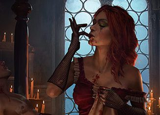 królowa nocy krwawa klątwa gwint