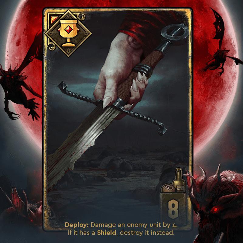 krwawa klątwa miecz z tesham mutna gwint