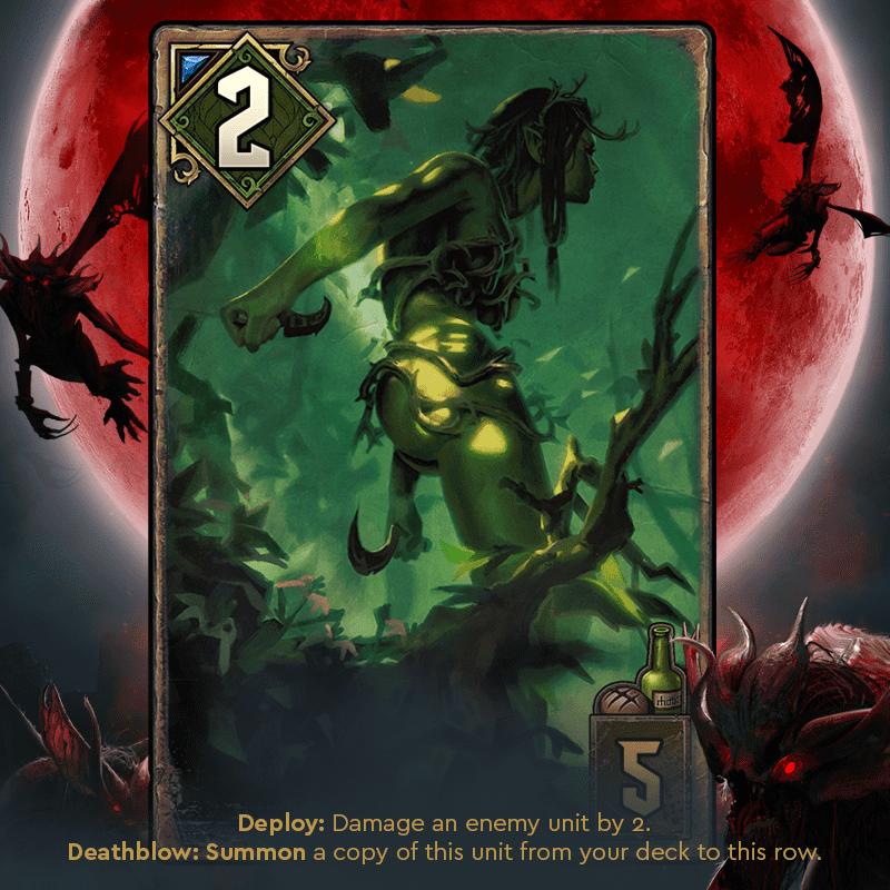 obrończyni brokilonu krwawa klątwa karty