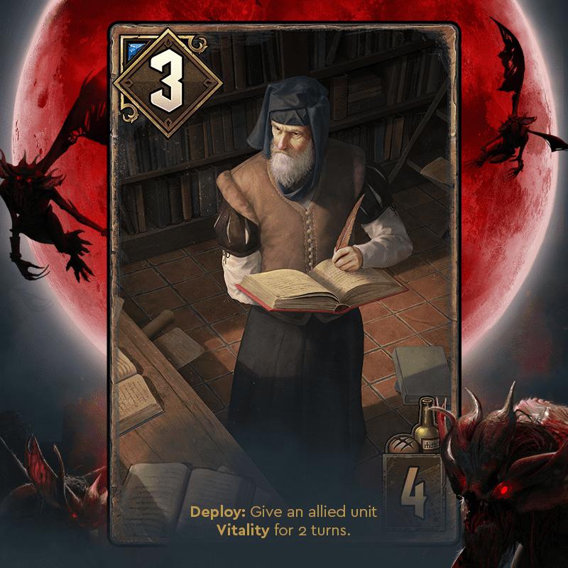 oxenfurcki uczony krwawa klątwa gwint