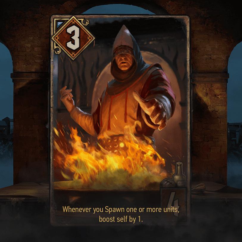 kapłan wiecznego ognia novigrad