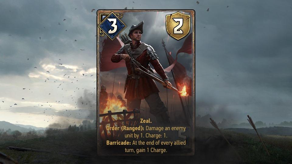 redański łucznik nowe karty