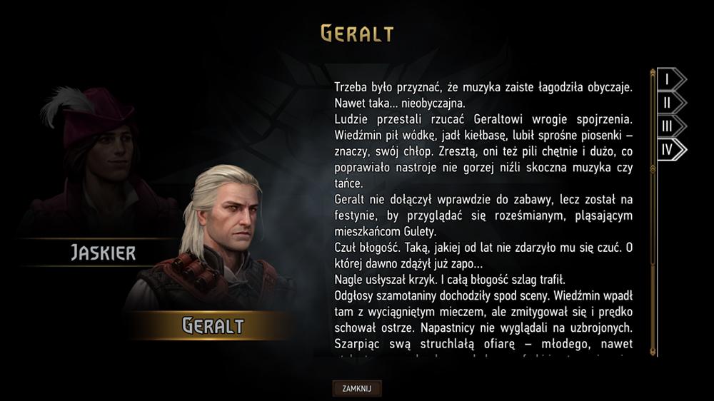 czwarty etap podróży geralt