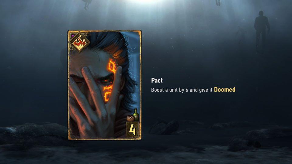 Pakt  - pan lusterko karty
