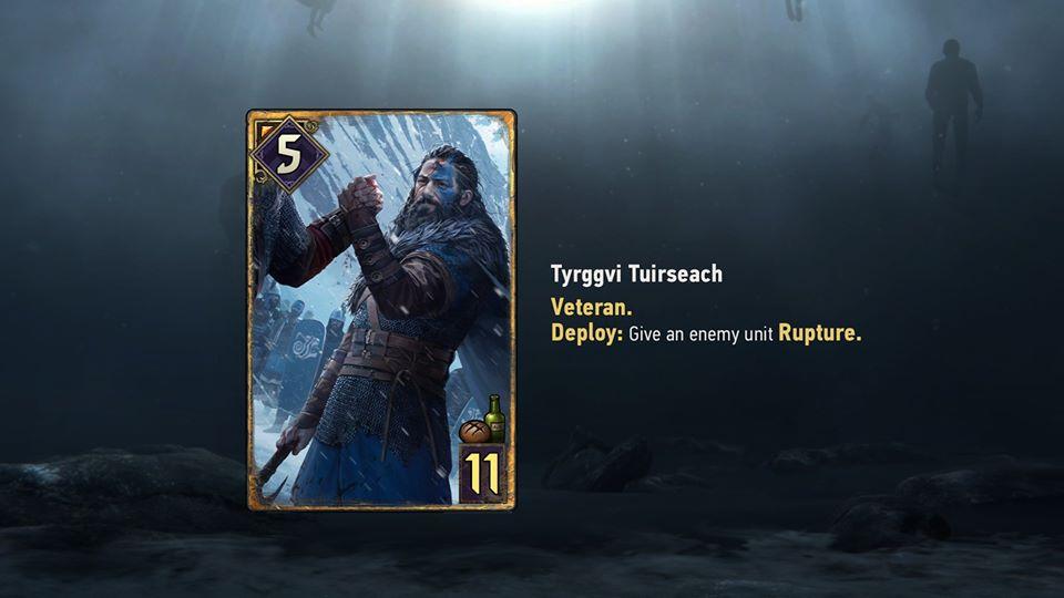 Tyrggvi Tuirseach  - pan lusterko karty